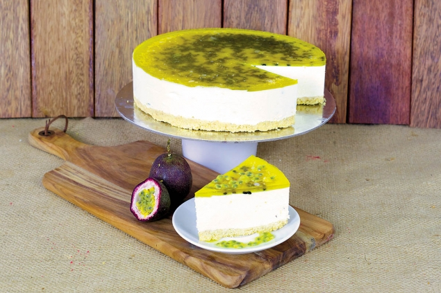 Cake: Chilled Passionfruit Cheesecake
