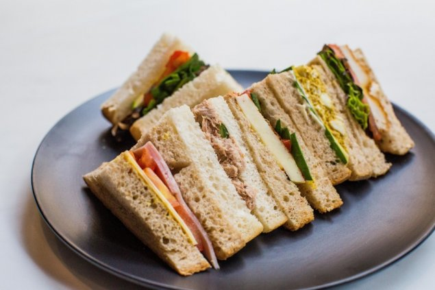 Sandwiches: Traditional Points (4 points per serve)