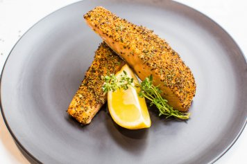 Lemon & Herb Grilled Salmon (single 200g)