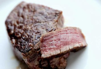 Grilled Rump Steak (Medium Rare - single 200g)