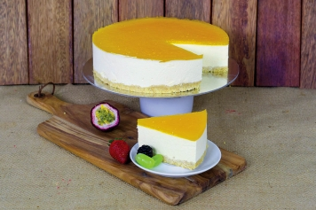 Cake: Chilled Mango Cheesecake