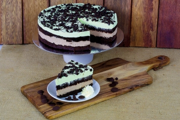 Cake: Choc Mint Cheesecake