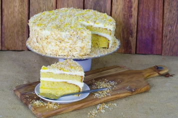 Cake: Mango And Coconut Torte